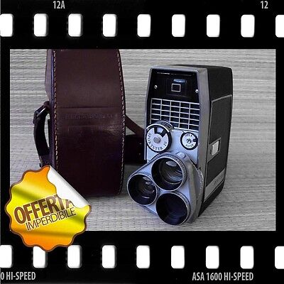 BELL & HOWELL SPORTSTER IV (1960) - SPLENDIDA CINEPRESA FORMATO 8mm