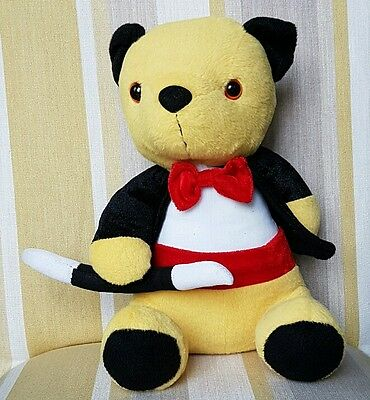 "Sooty from Sooty and Sweep new plush 11"" plush soft toy"