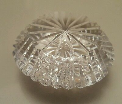 tyrone crystal paperweight