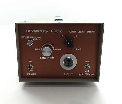 Olympus CLK-3 Surgical Lightsource Console