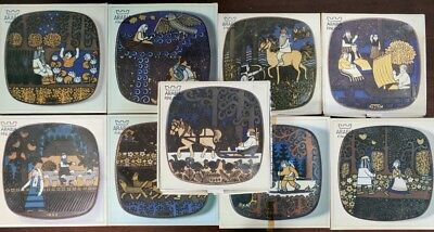Set of Arabia Collectable Plates
