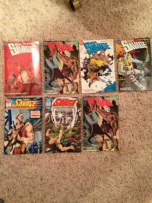 Doc Savage Lot Of 7, 1988 #1,2,2,3,1989 #6, 1987 #1&1988 #3 Of Four Vf+