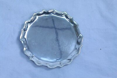 Udall&Ballou 4607 12 inches art deco Sterling silver tray