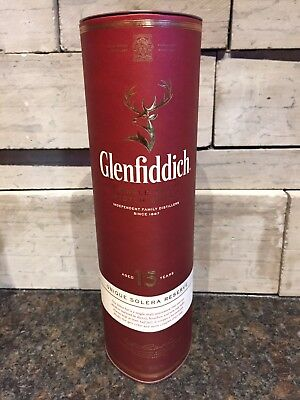 Glenfiddich Single Malt Scotch Whisky 15 Year Empty Container