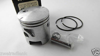 Piston GILERA EC1 43,80 Ø Oversize 1A Quality 12er Made in Italy - Assembly