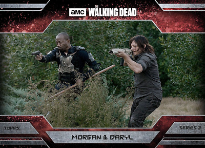 Topps Walking Dead Allegiance Series 2 Daryl Dixon and Morgan Jones MAGMA 100cc
