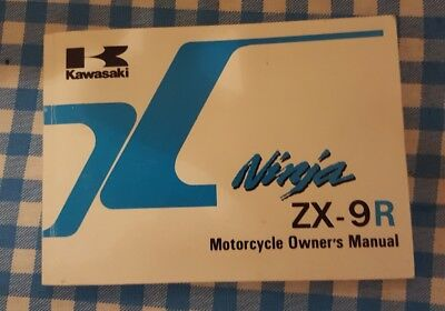 ZX9R B1 Owner's Manual 1994