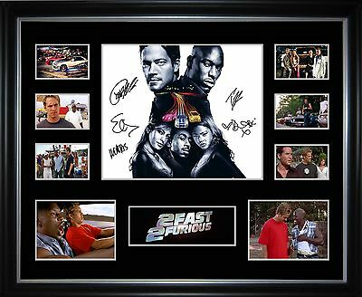 2 Fast 2 Furious Limited Edition Framed Memorabilia
