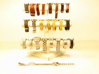 Lot of Men's Jewelry Wristwatches Timex Gruen Fossil AS IS