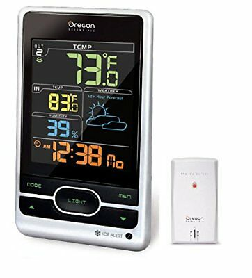 Oregon Scientific BAR206S Multi Zone Wireless Weather Station w/ Color Display
