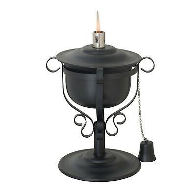 Outdoor Steel Garden Table kerosene oil lamp Torch light, Home Garden Camping