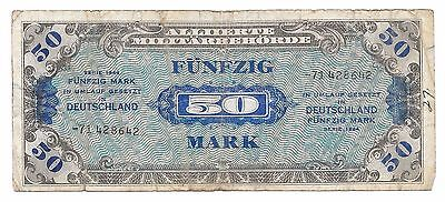 Germany (Allied Occupancy) 50 Mark, 1944, Ro 205d / P 196d