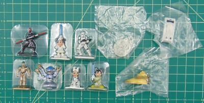 Disney Collector Packs Park Series Nine/9 Star Wars Lot of 10 Figures