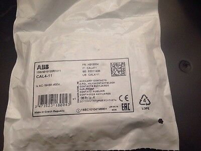 ABB CAL4-11 Auxiliary Contact New