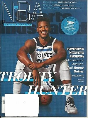 Sports Illustrated October 16 23 2017 Jimmy Butler Free Fast SnH Best Deal L@@K!