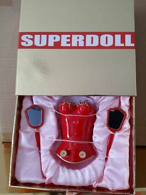 Superdoll Sybarite Salon Exclusive Red Soft Luggage Bag set FREE SHIPPING!