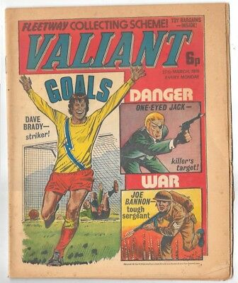 Valiant 27th Mar 1976 (high grade) Adam Eterno, One-Eyed Jack