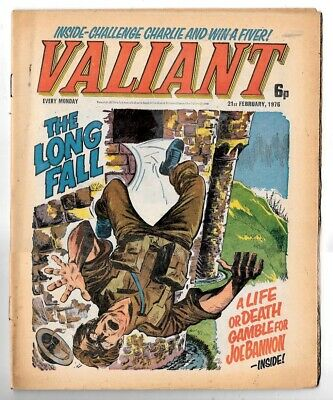 Valiant 21st Feb 1976 (very high grade) Adam Eterno, One-Eyed Jack