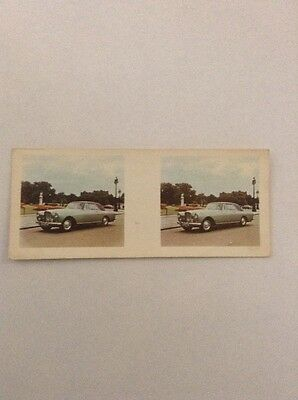 1961 Bentley Continental WEETABIX 3D Viewer Card UK OB