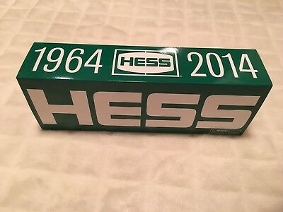 2014 Edition 50th Anniversary Hess Truck! Collector's item! Mint condition!