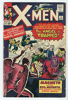 The X-Men #5  Magneto  5.5