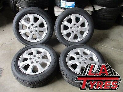 15 inch GENUINE HOLDEN ASTRA 5 STUD  ALLOY Wheels Rims BRAND NEW TYRES