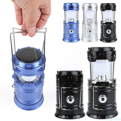 LED Outdoor Lights Portable Tent Collapsible Lamp Lantern Hiking Device BT#