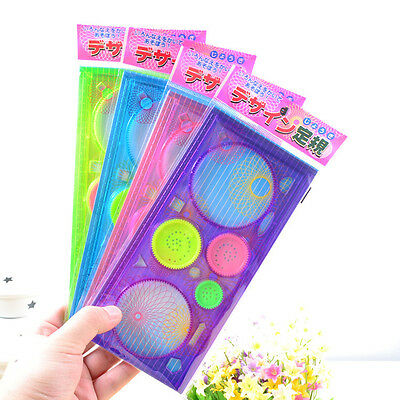 1Pc Baby Spirograph Sketchpad Drawing Board Ruler Educational Toys Gift