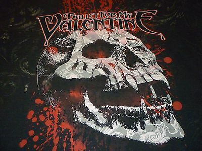 Bullet For My Valentin Shirt ( Used Size XL Missing Tag ) Good Condition!!!