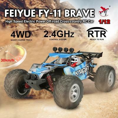 2.4G 1/12 4WD Electric Buggy High Speed Remote Control RC Car RTR Off-Road Truck