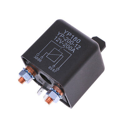 24V/12V DC 200A Car Relay Truck Motor Continuous Automotive Switch High Power