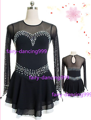 2017 New Style Ice Figure skating dress Ice skating dress  for competition p344