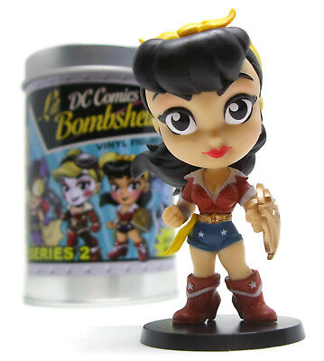 DC Comics LIL BOMBSHELLS Series 2 WONDER WOMAN Vinyl Figure Cryptozoic