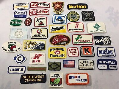 Large Lot of Patches Over 50 - Union Ortho Agriculture Herbicide Interstate