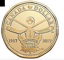 2017 Canadian maple leaf loonie MINT