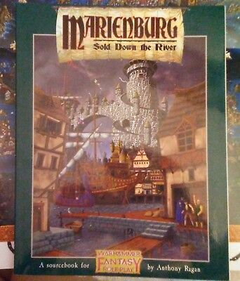 Warhammer Fantasy Roleplay - Marienburg: Sold Down the River (has map - mint)