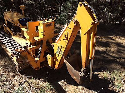 Woods T-308 Backhoe attachment for 3 point hitch.
