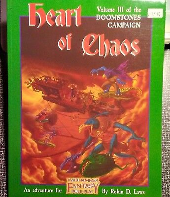 Warhammer Fantasy Roleplay - Heart of Chaos:  Volume III of Doomstones (mint)