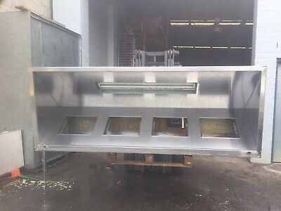STAINLESS EXHAUST HOOD Good Condition