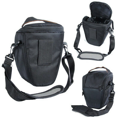 Triangle Black Camera Bag Backpack SLR Case for Canon Nikon Sony SLR DSLR HQ