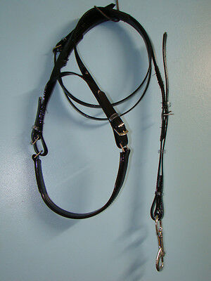 PVC trotting Headcheck and Chinrest