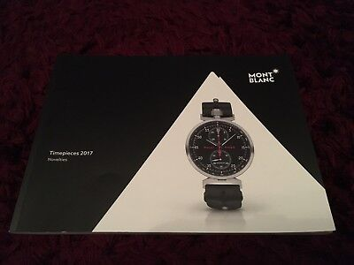 Mont Blanc Watch Collection Catalogue 2017