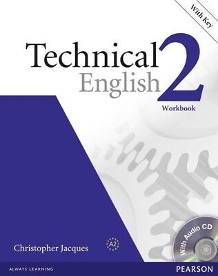 Jacques, Christopher: Technical English Level 2 Workbook with Key/CD Pack
