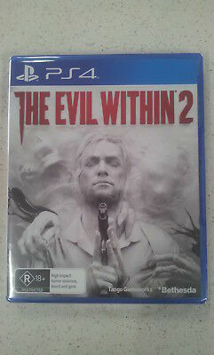 The Evil Within 2 PS4 Game Brand New and Sealed Australian Stock