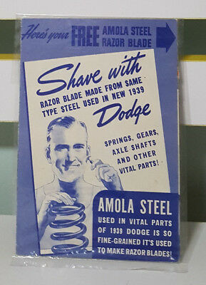 Amola Steel - Promotional Advertising Card!