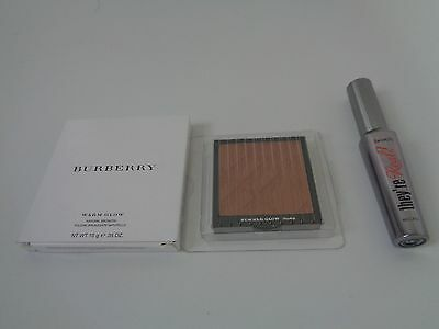Benefit they're real! mascara 8.5g + Burberry summer glow No.04 100% Authentic
