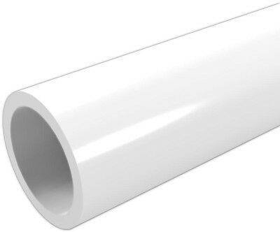 1 x 5 ft. Formufit Furniture Grade Sch. 40 PVC Pipe Lead Free and UV Resistant