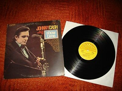 Vinyl LP - Johnny Cash - Show Time - SUN 105  /  1969 - MADE IN USA