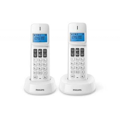 Telefono Philips D1411b Blanco Duo