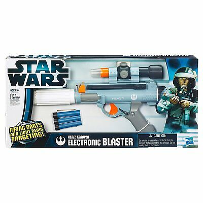 Star Wars Rebel Trooper Electronic Dart Blaster nerf NEW IN BOX